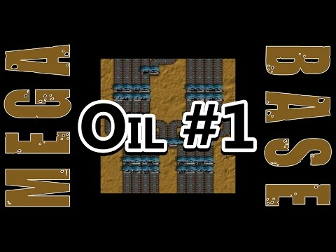 Factorio Mega Base Great Oil Review 1
