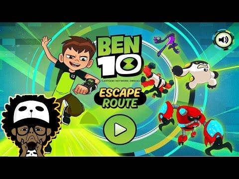 Cartoon Network Games | Ben 10 | Escape Route