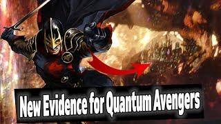 CRAZY New Story Proves Avengers Endgame Theory? Quantum Avengers & Black Knight