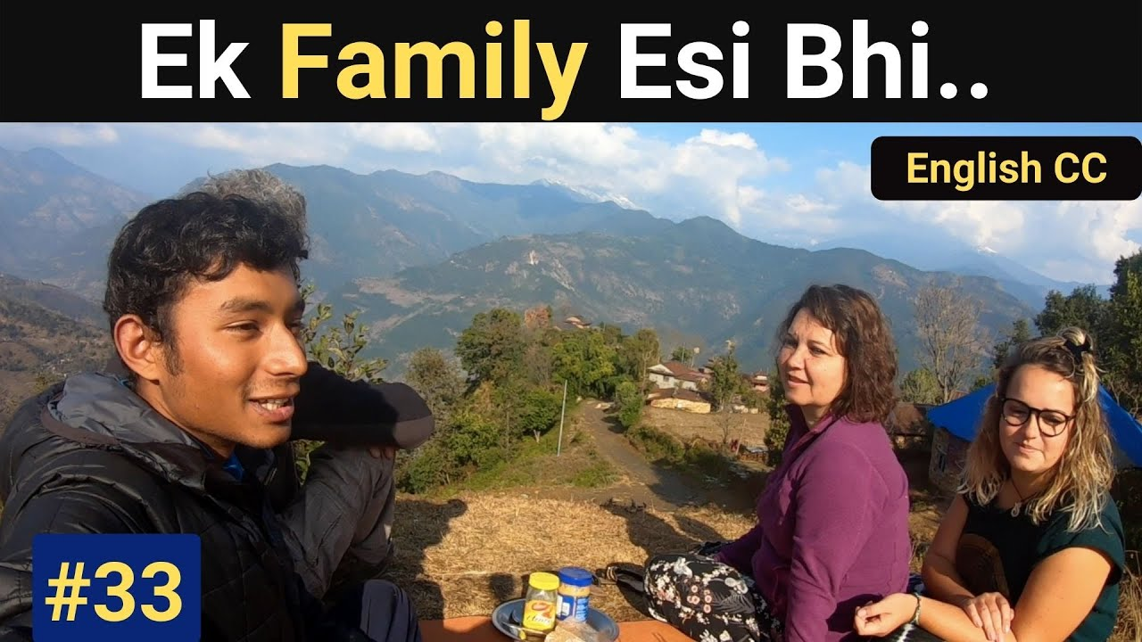 A Family who Traveled The World | Indian Solo Traveling in Nepal | Indian Travel Vlog