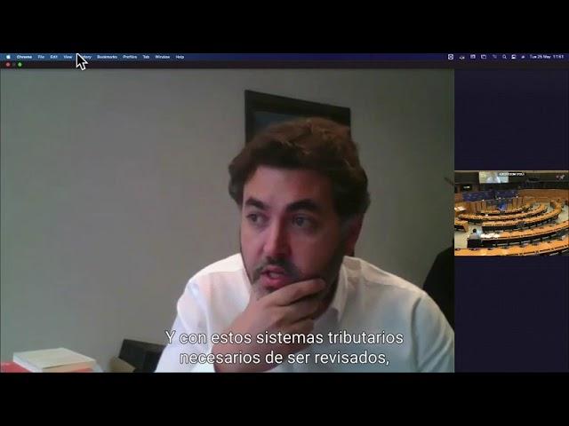 Intervención sobre el informe sobre la creación de un sistema fiscal sostenible en la UE post-COVID