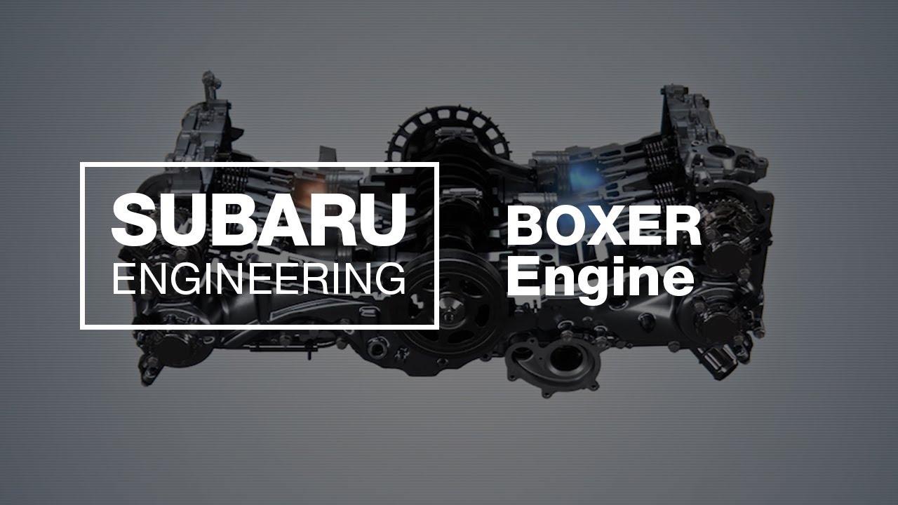 Subaru Boxer Engine Explained 2018 Updated Youtube 2 Diagram