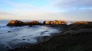 Bandon by the Sea- Oregon Coast- View from Bandon Beach Motel