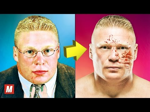 Brock Lesnar  From 1 To 40 Years Old