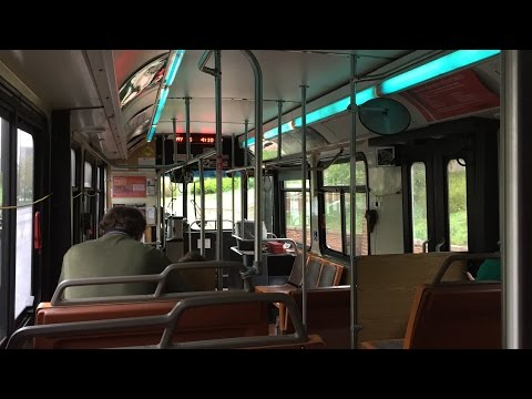 CATA (State College) HD 60fps: Riding New Flyer C35LF #76 on Outbound XB to Bellefonte (5/6/16)