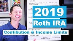 Roth IRA income limits 2019