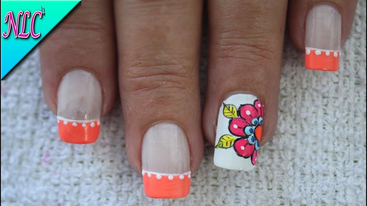 Decoración De Uñas Para Pies Flor Mandala Flower Mandala Nail