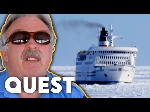 Can This Monster Ice Machine Save This Cruise Ship From Sinking?  | X-Machines