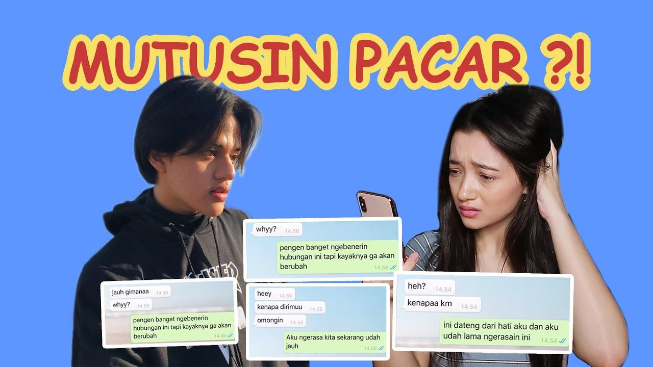 Prank Text ! Mutusin Pacar?! | Megan Domani