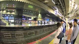 日本 近畿花見 春櫻紀實 京都 kyoto 車站 縮時 TIMELAPSE WB0271 2013-04-12 美的因