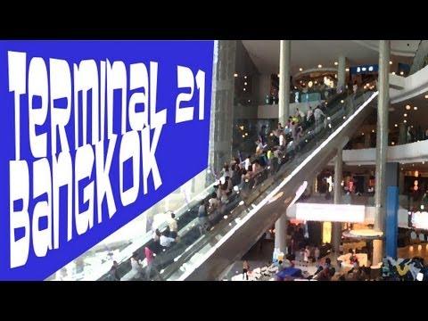 Visite du Terminal21 à Bangkok : Un centre commercial pensé comme un aéroport - Thaïlande