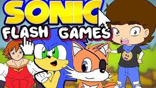 Sonic's WEIRD Flash Games - ConnerTheWaffle