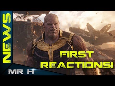 Avengers Infinity War FIRST REACTIONS