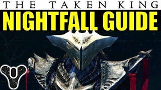 Destiny Nightfall Guide: The Sunless Cell | The Taken King Week 1 Nightfall Walkthrough