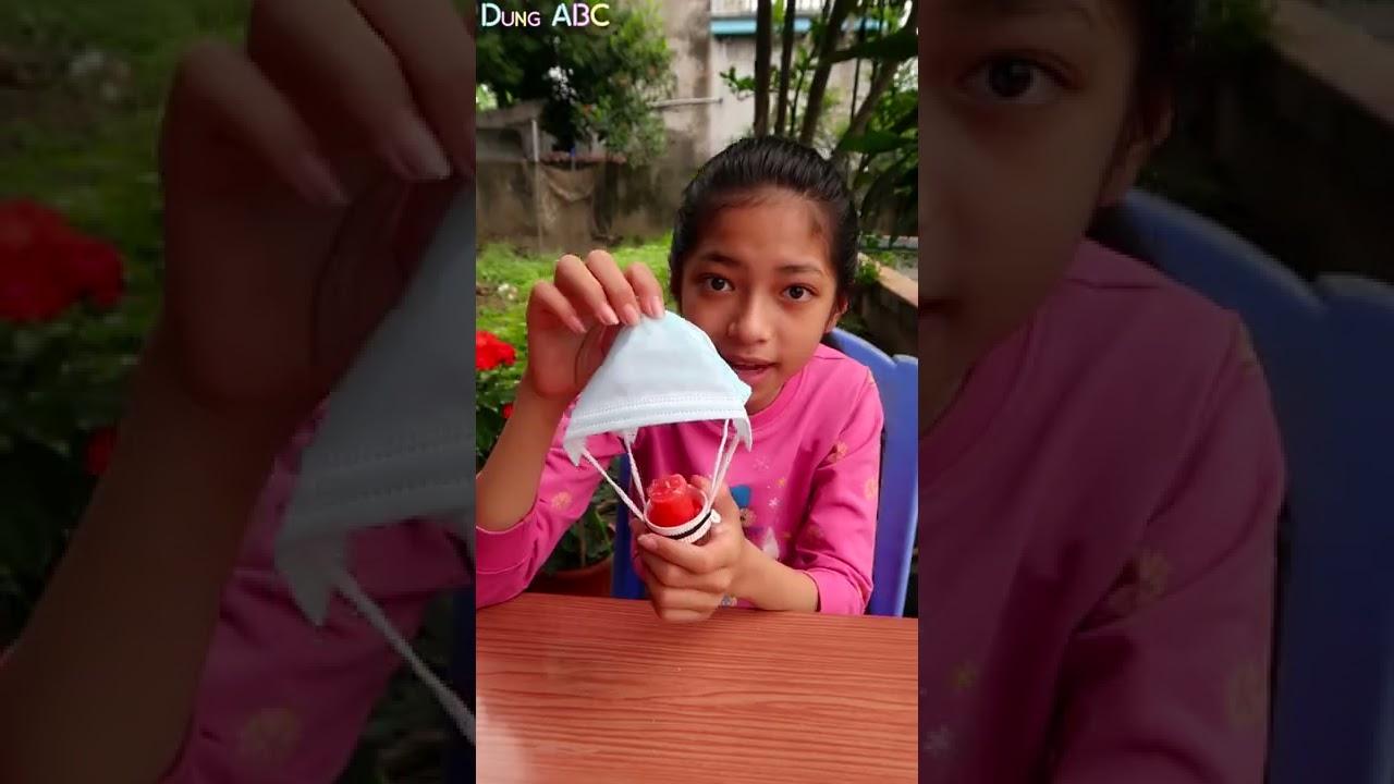 Thử Thách làm theo thí nghiệm trên TIKTOK | Dung ABC #Shorts