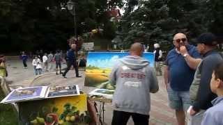 Выставка-продажа картин в городе-курорте Трускавец.