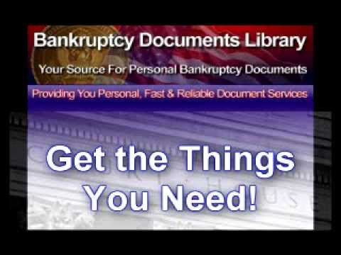 Bankruptcy Documents Library