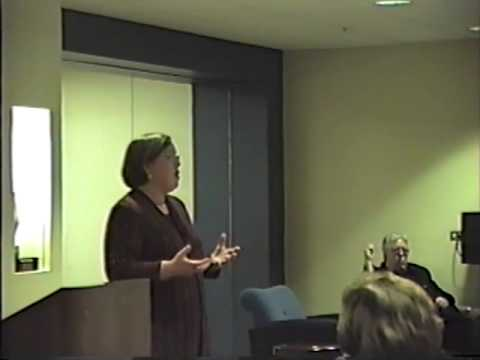 Autism Lecture, Barbara Tobias of the DuPage County Autism Society (full video)