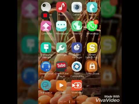 install android apps on samsung z2 tizen phone