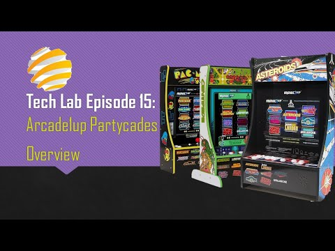 Tech Lab Episode 15: Arcade 1up Partycades Overview from ConStorm Entertainment