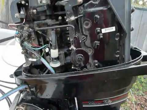 mercury 1989 classic 50, 45 hp  YouTube