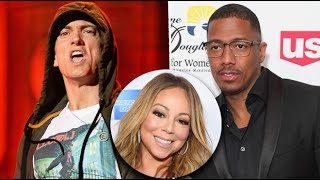 "Eminem Disses Nick Cannon Again Over Ex Wife Mariah Carey, ""I Told You She Was A Nutjob""