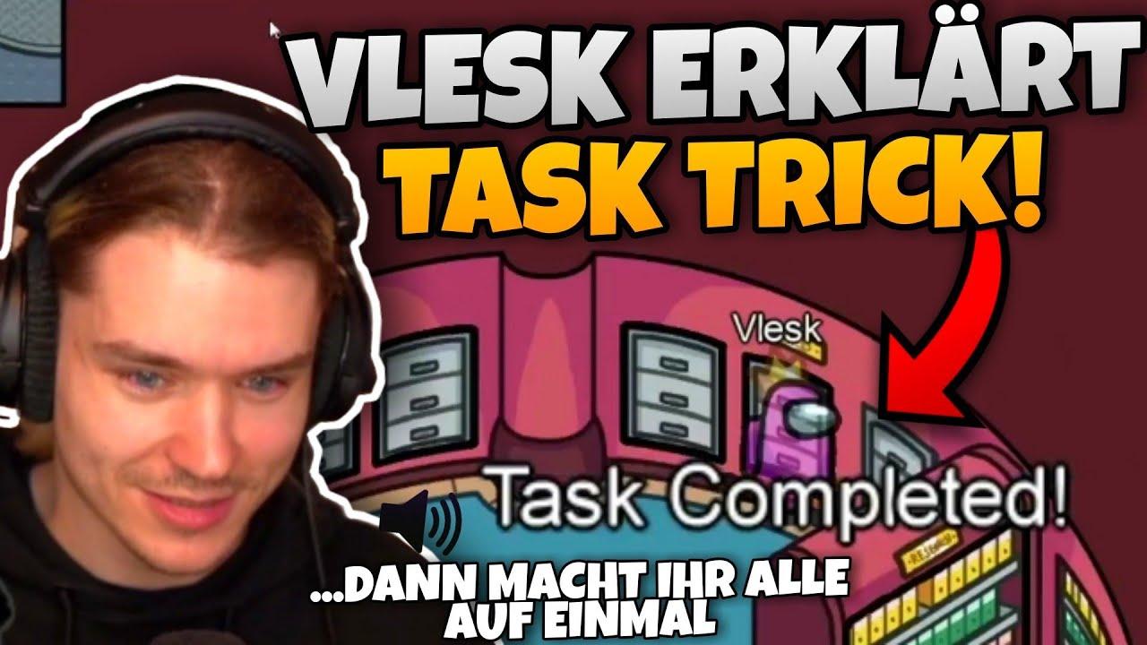 Vlesk erklärt INSTANT TASK TRICK & Dhalu zerstört Julis IMPOSTER PLAY   Among Us Highlights #52