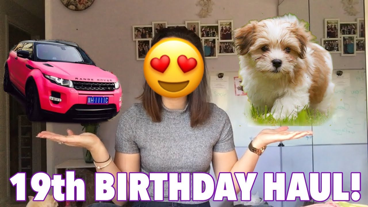 19th BIRTHDAY HAUL!!
