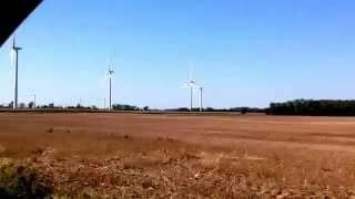 Wind Turbine Farms in the Thumb of Michigan!