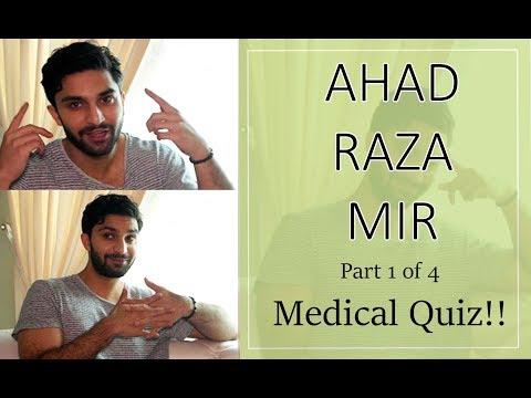 Can Ahad Raza Mir aka Dr Asfandyar  pass our medical quiz? | Orange Wall TV