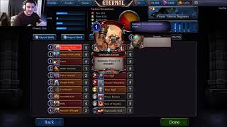 Eternal CCG New Player Praxis Tokens Deck Tech and Guide