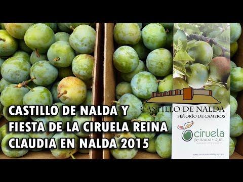 Castillo de Nalda y Fiesta de la Ciruela Claudia Reina 2015