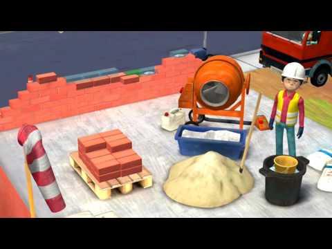 Мультфильм про маленьких строителей