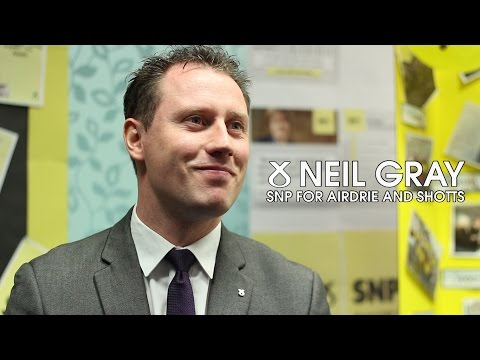 Neil Gray   SNP for Airdrie and Shotts
