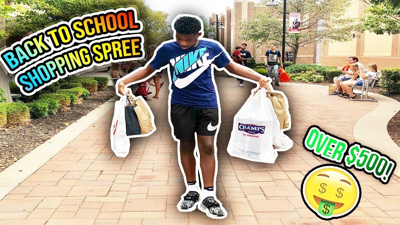 b132bab806c9 Back to School Shopping Spree🤘🏾🔥 (Nike