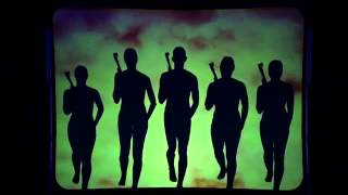 Attraction - Shadow act - Read all about it. Britain's Got Talent 2013