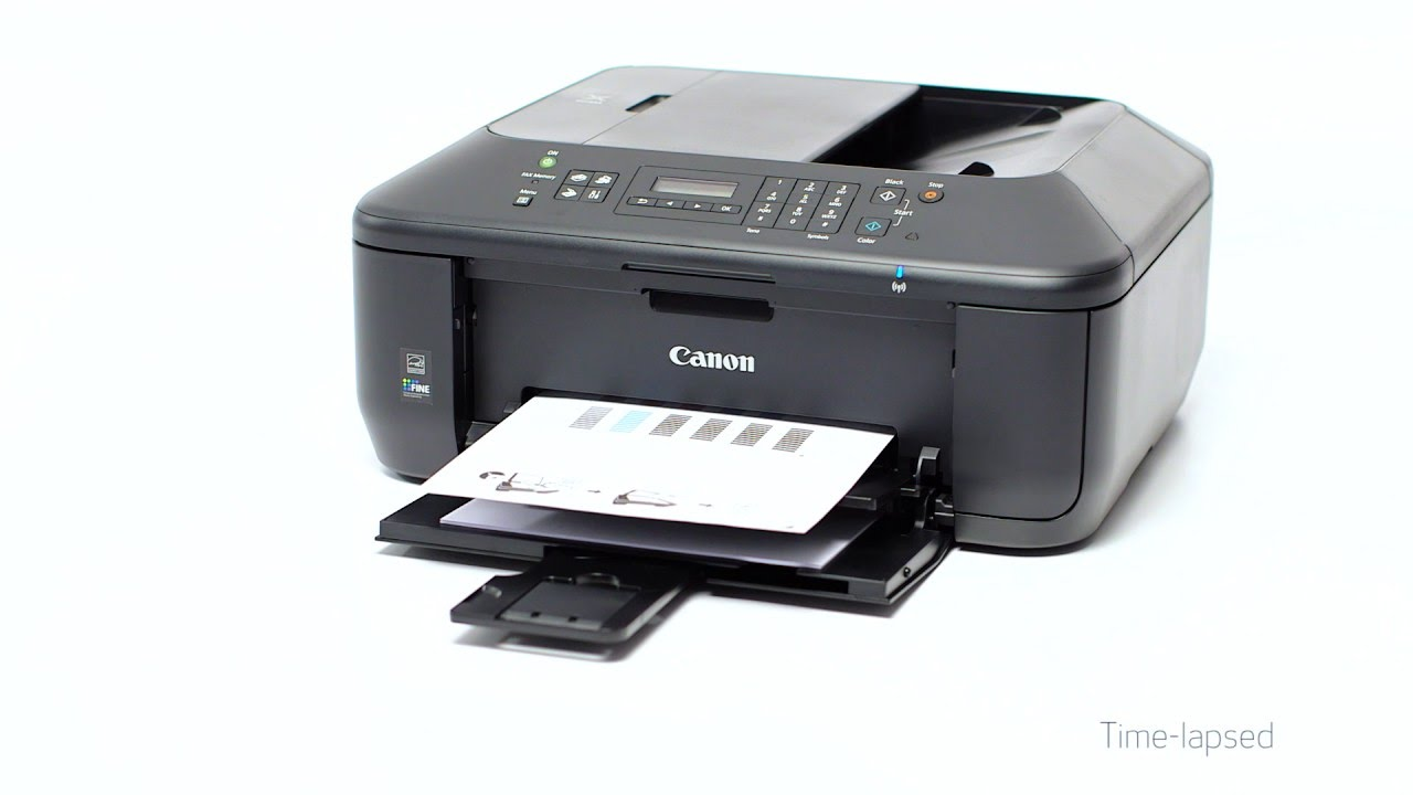 How to connect my wireless canon printer to my computer