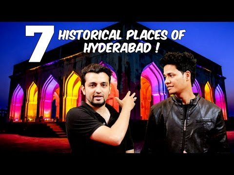 7 Historical & Beautiful Places of Hyderabad ! l The Baigan Vines