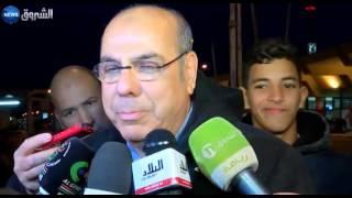 تصريح محمد روراوة رئيس الفاف لحظة وصول المنتخب الأولمبي