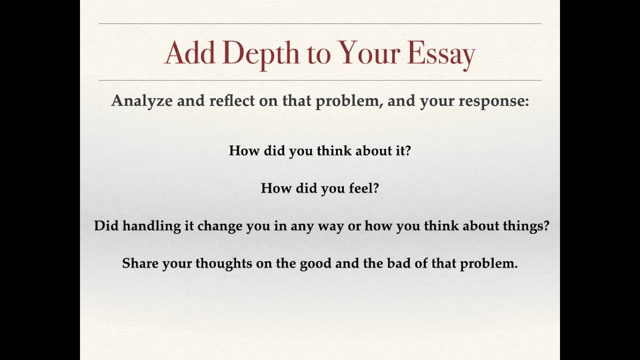 how to answer prompt of the common application what s your how to answer prompt 4 of the common application what s your problem essay hell