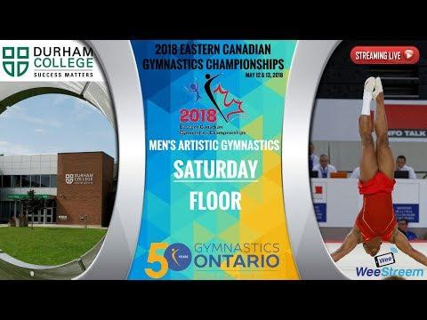 Saturday - Floor - 2018 Eastern Canadian Gymnastics Championships - M.A.G.