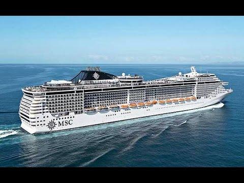 MSC Fantasia Cruise August 2014 Natalia & Aurelian