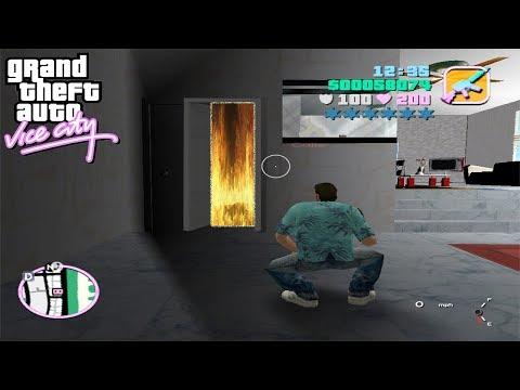 Esta es la Puerta Secreta del GTA Vice City