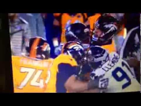 Malcom Smith Super Bowl 48 MVP Highlights
