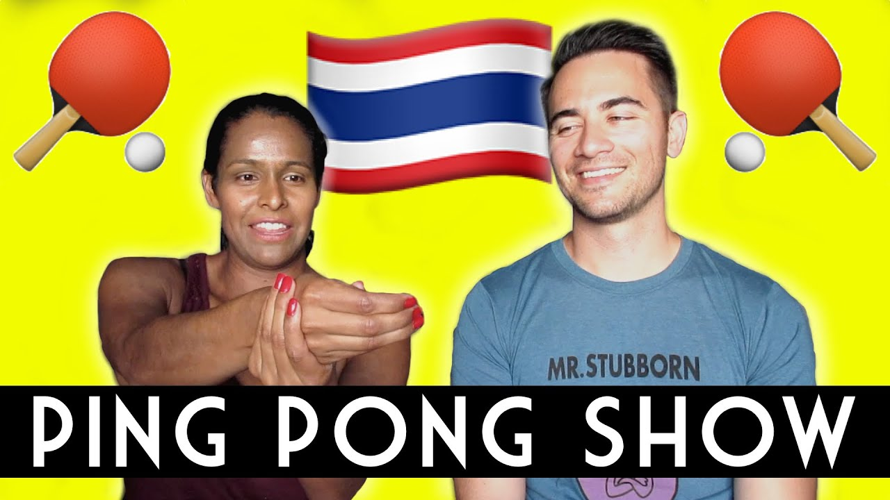 The Ping Pong Show - Bffs Most Memorable Thailand Moment -8377