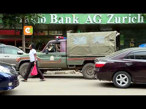 Robbers spend 2 nights inside a bank in Nairobi