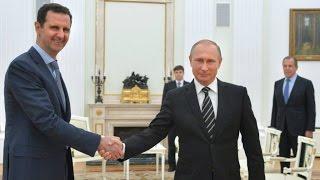 Guerre en Syrie - Bachar Al-Assad à Moscou pour remercier Poutine