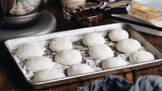 How to Make Mochi with a Stand Mixer スタンドミキサーで餅つき