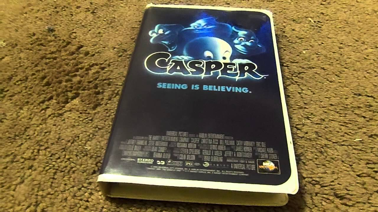 Casper VHS Review - YouTube