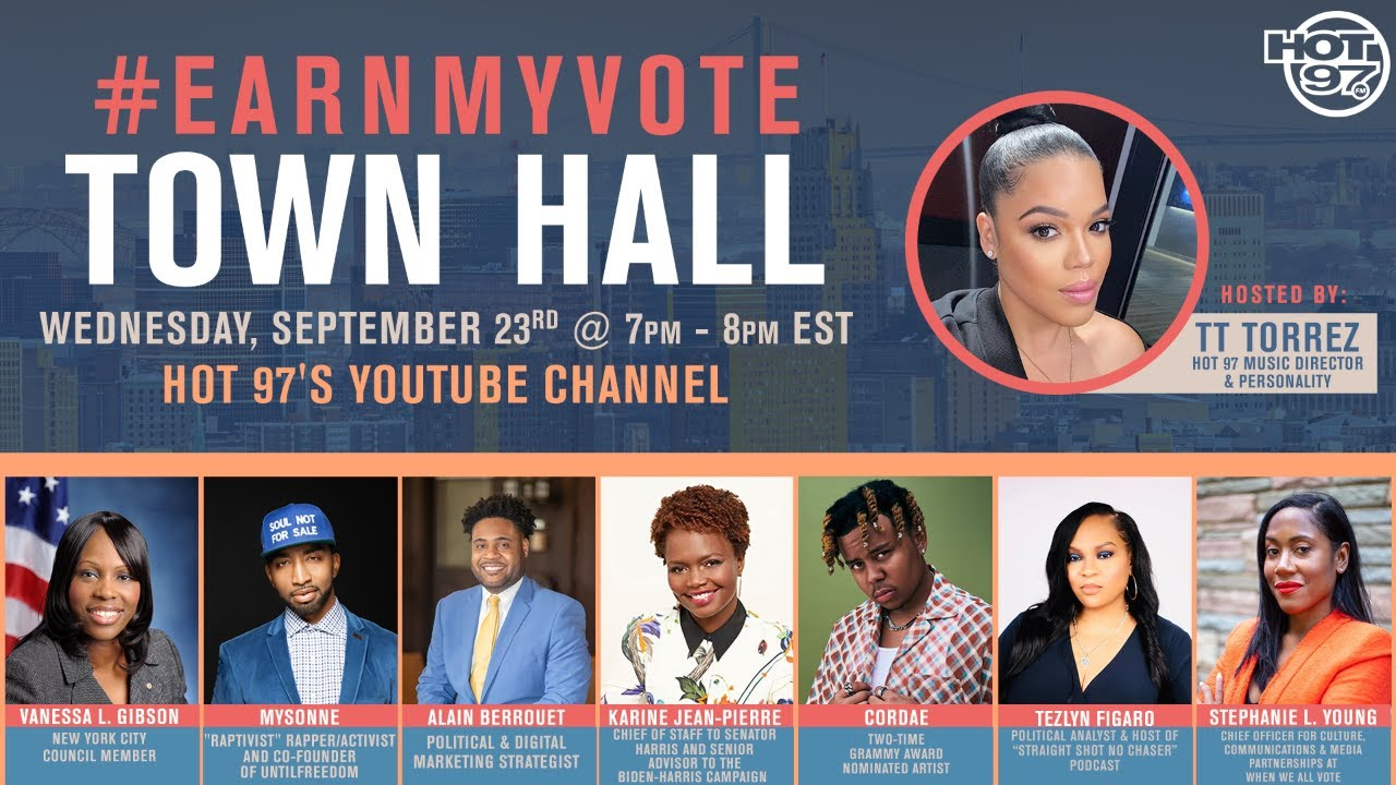 #EarnMyVote Town Hall - Addressing The Issues, Facts & Effects Of The 2020 Election